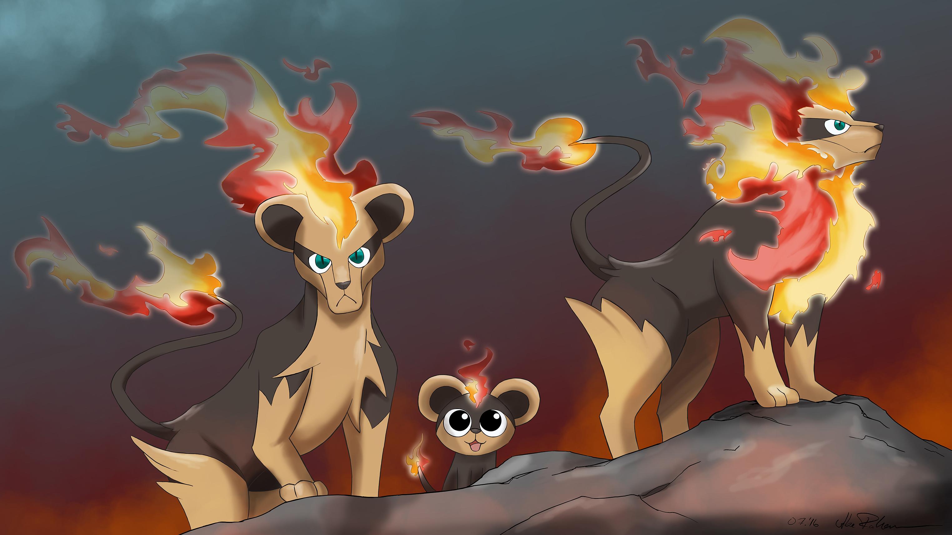 Pyroleo Familie